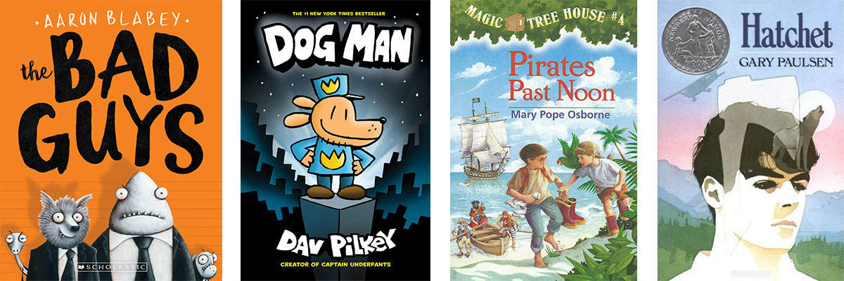 Favorite Books for Kids Who Struggle with Reading: Action and Adventure