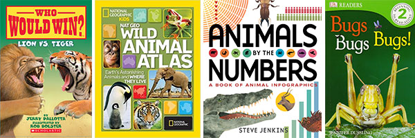 Favorite Books for Kids Who Struggle with Reading: Animals
