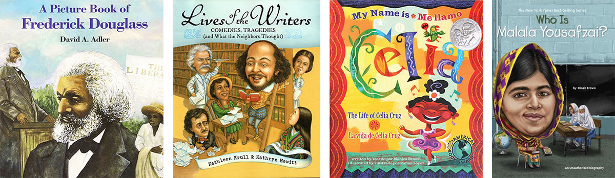Favorite Books for Kids Who Struggle with Reading: Biographies