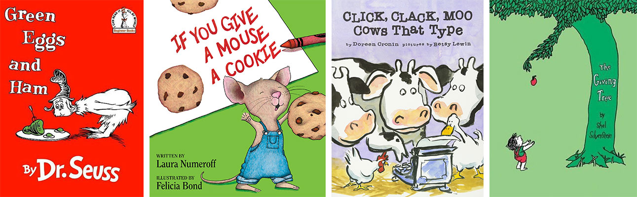 Favorite Books for Kids Who Struggle with Reading: Picture Books: Old Favorites