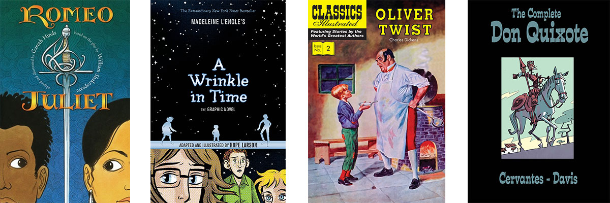 Favorite Books for Kids Who Struggle with Reading: Classic Literature as Graphic Novels