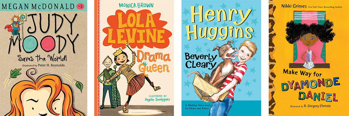 Favorite Books for Kids Who Struggle with Reading: Families, Growing Up and Getting into Trouble!
