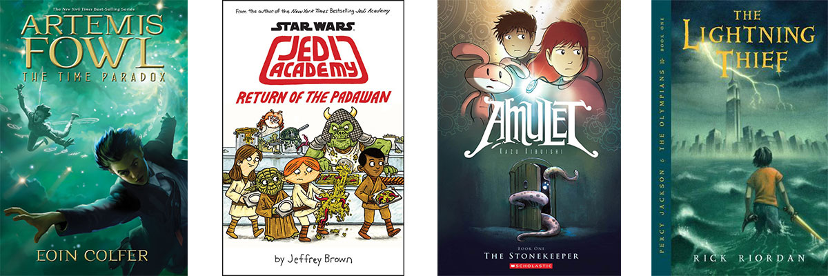 Favorite Books for Kids Who Struggle with Reading: Fantasy and Science Fiction