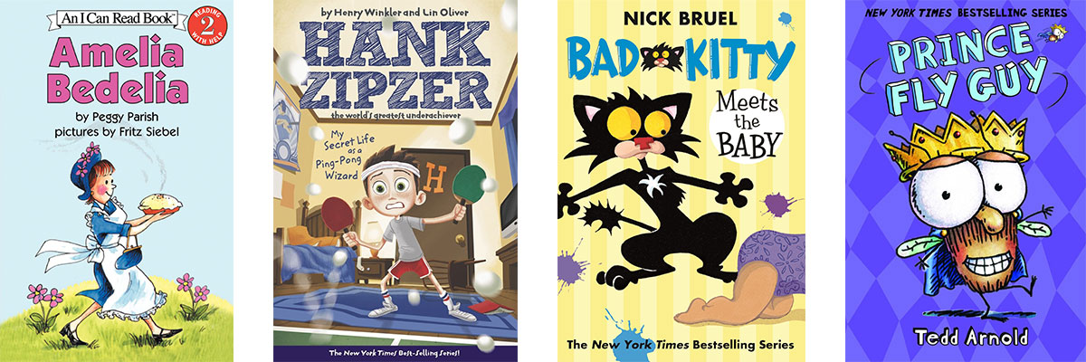 Favorite Books for Kids Who Struggle with Reading: Humor