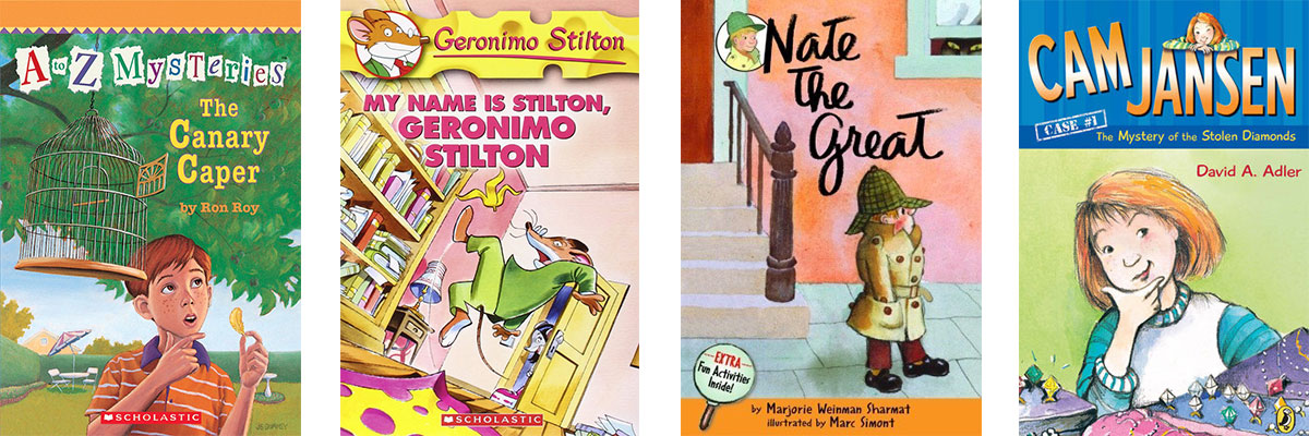 Favorite Books for Kids Who Struggle with Reading: Mysteries