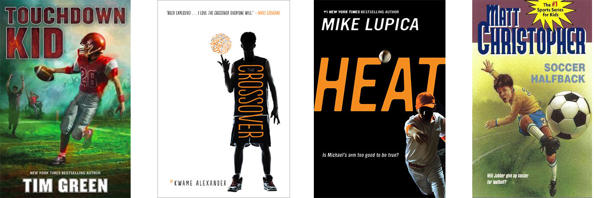 Favorite Books for Kids Who Struggle with Reading: Sports