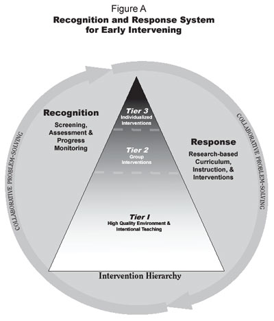 The four components of the Recognition and Response system