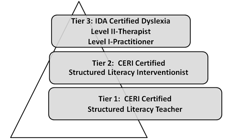 Figure 1. The three tiers of certification