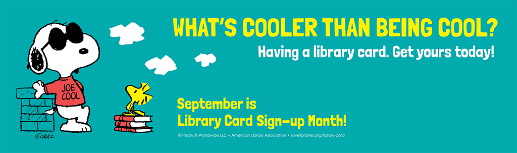ALA Library Card Signup Month