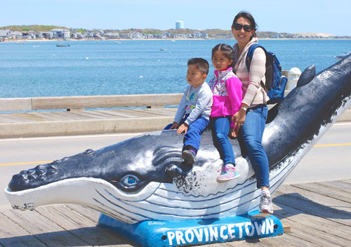 Provincetown whale statue