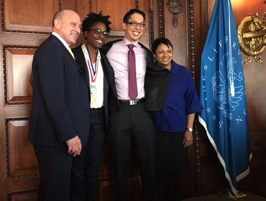 Jacqueline Woodson at the Library of Congress