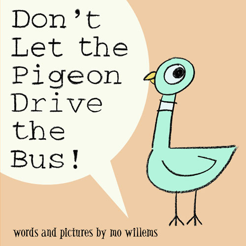 Don't Let the Pigeon Drive the Bus book cover