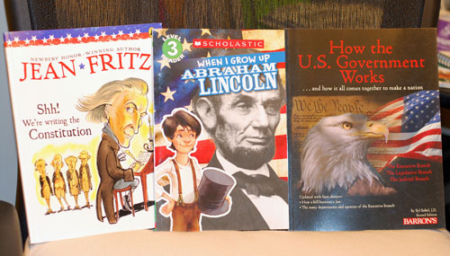 Nonfiction children's books about our government