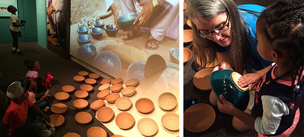 Turquoise Mountain at the Sackler: pottery