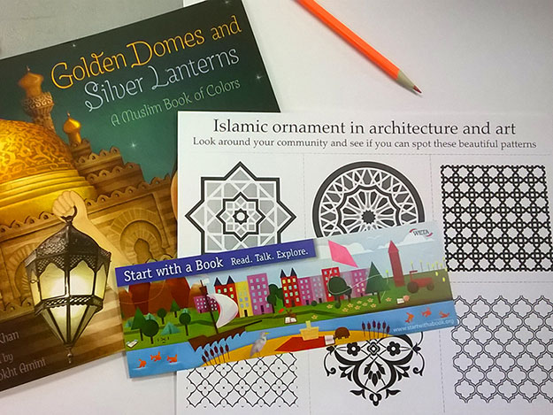Turquoise Mountain at the Sackler: Golden Domes and Silver Lanterns: A Muslim Book of Colors