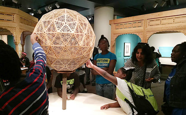 Turquoise Mountain at the Sackler: touching the architectural sphere