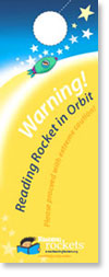 Reading Rockets door hanger