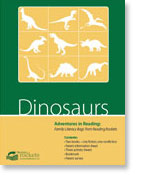 Reading Rockets' Dinosaurs reading adventure pack