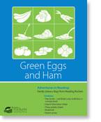 Reading Rockets' Green Eggs and Ham reading adventure pack