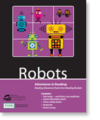 Reading Rockets' 'Robots' Reading Adventure Pack
