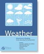 Reading Rockets' 'Weather' Reading Adventure Pack