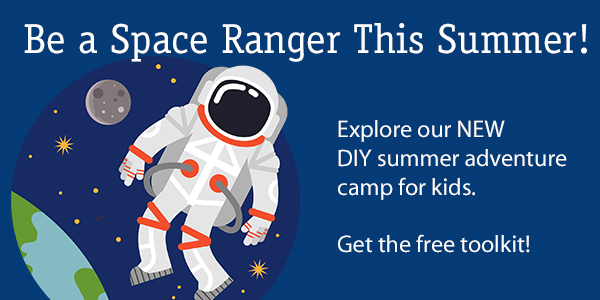 Space Rangers DIY summer camp