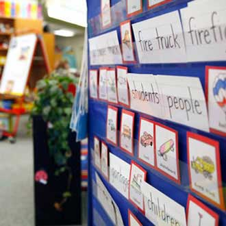Word Walls Classroom Strategies Reading Rockets