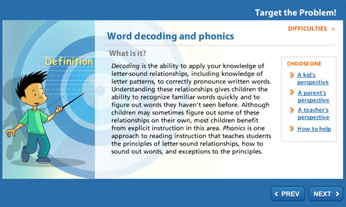 Target the Problem: Word Decoding and Phonics