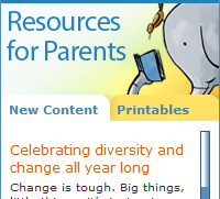 Widget: Resource for Parents