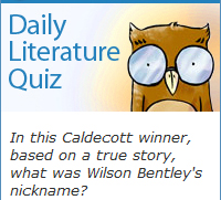 Widget: Daily Literature Quiz