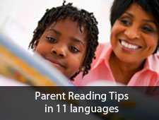 Parent Reading Tips in Multiple Languages
