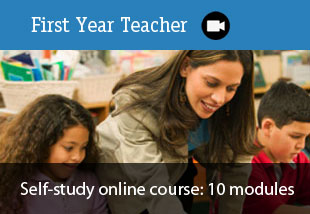 First Year Teacher online course