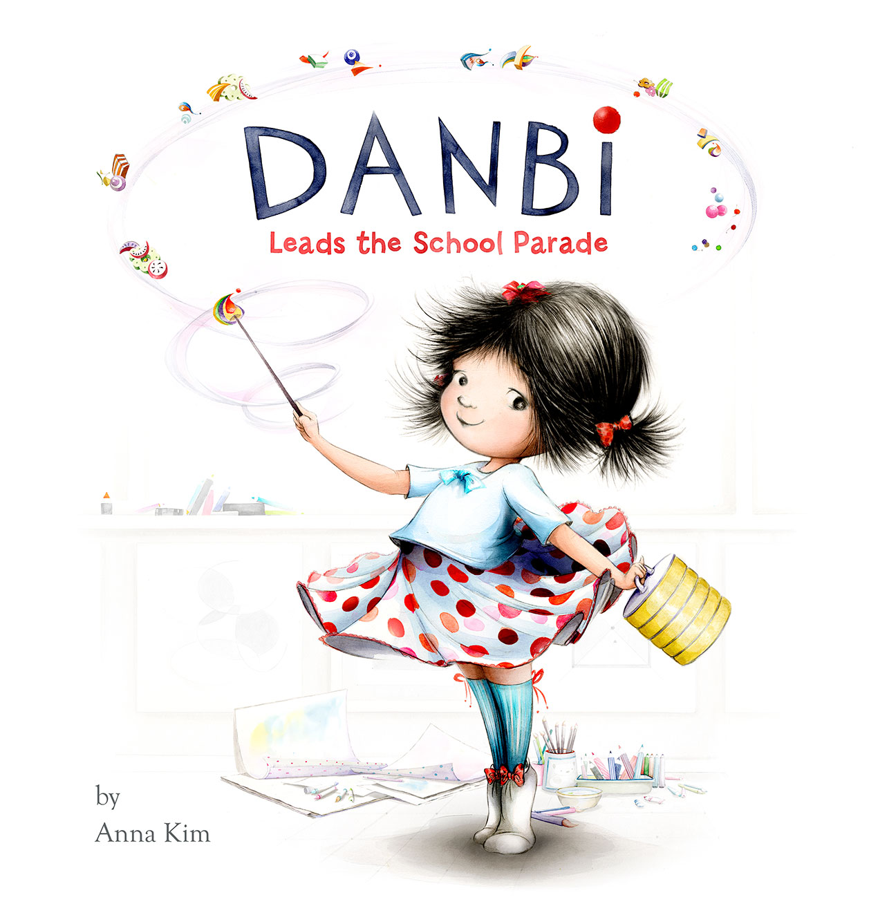 cover of picture book Danbi Leads the School Parade