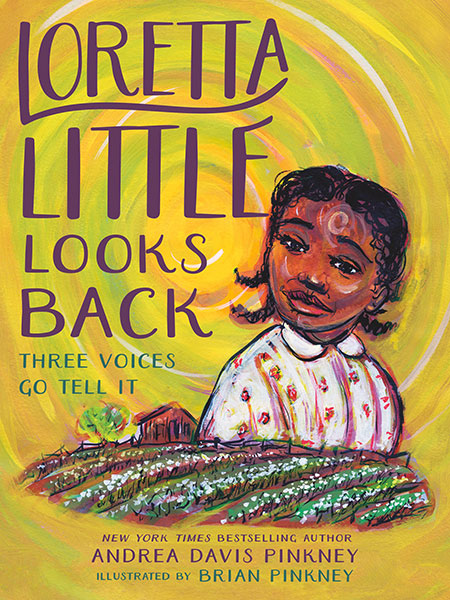 Illustration of African American picture book character Loretta Little