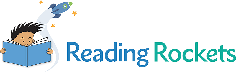 Reading Rockets Logo for web horizontal version