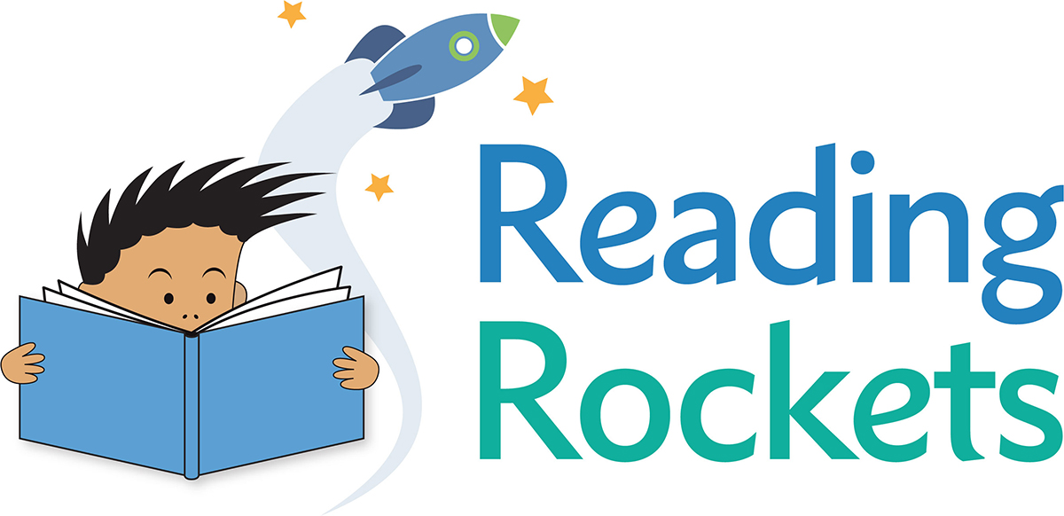 Reading Rockets Logo for print
