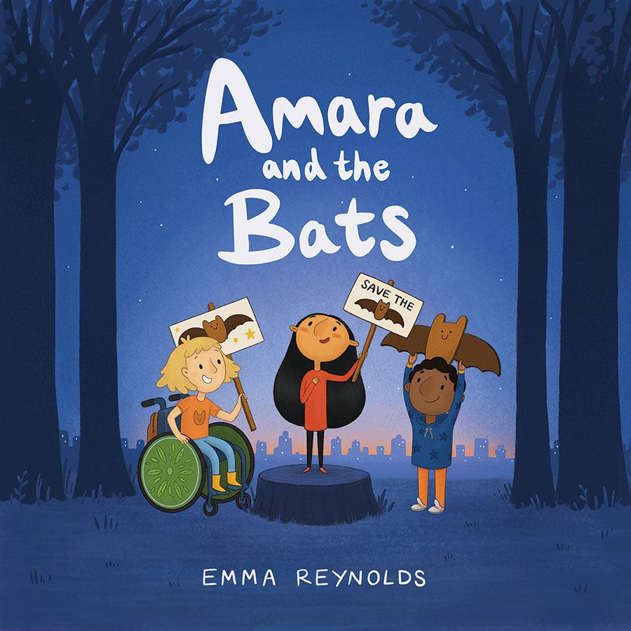 Amara and the Bats book cover