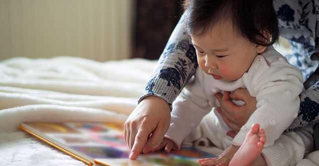 How to Read With a Squiggly Baby (or Toddler!)