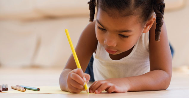 Developing Writing and Spelling at Home (Pre-K)