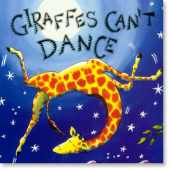 Book cover for Giraffes Can't Dance