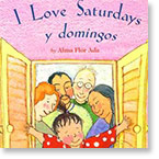 Book cover I Love Saturdays y domingos