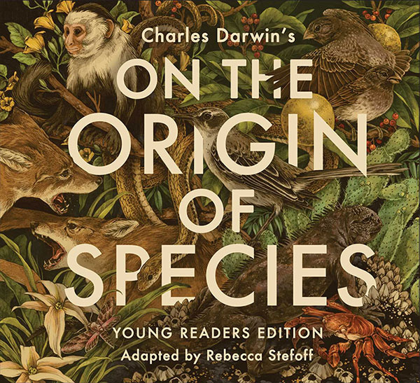 Animal illustrations for the cover of On the Origin of Species