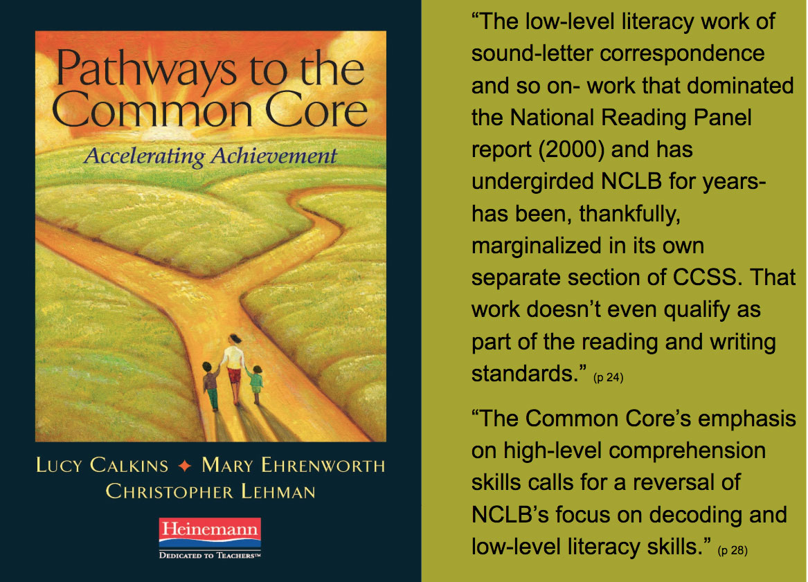 Pathways to the Common Core Lucy Calkins quote