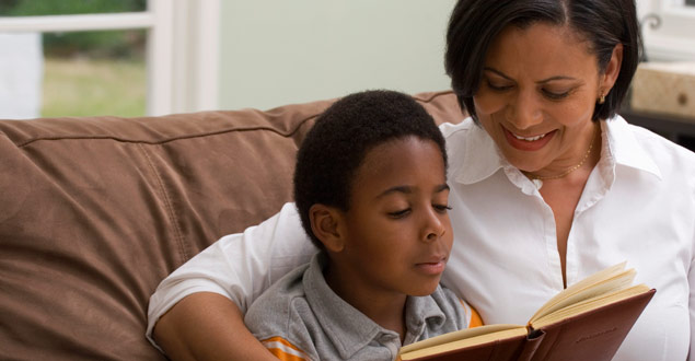 Family read-alouds provide great opportunities to tackle more challenging books together
