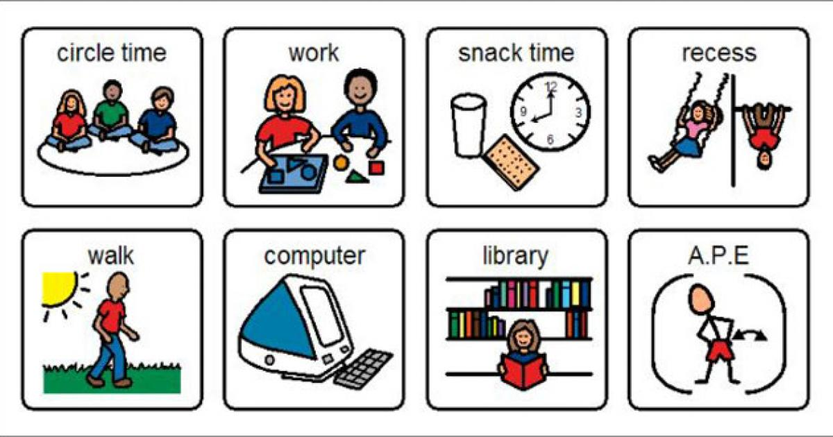 Visual Supports For Students With Asd Reading Rockets