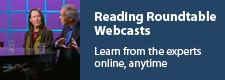 Reading Roundtable: Learn from the experts online, anytime