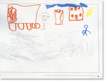 Kindergarten, Writing Sample 1 Image